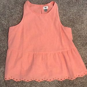 Old Navy Peplum tank